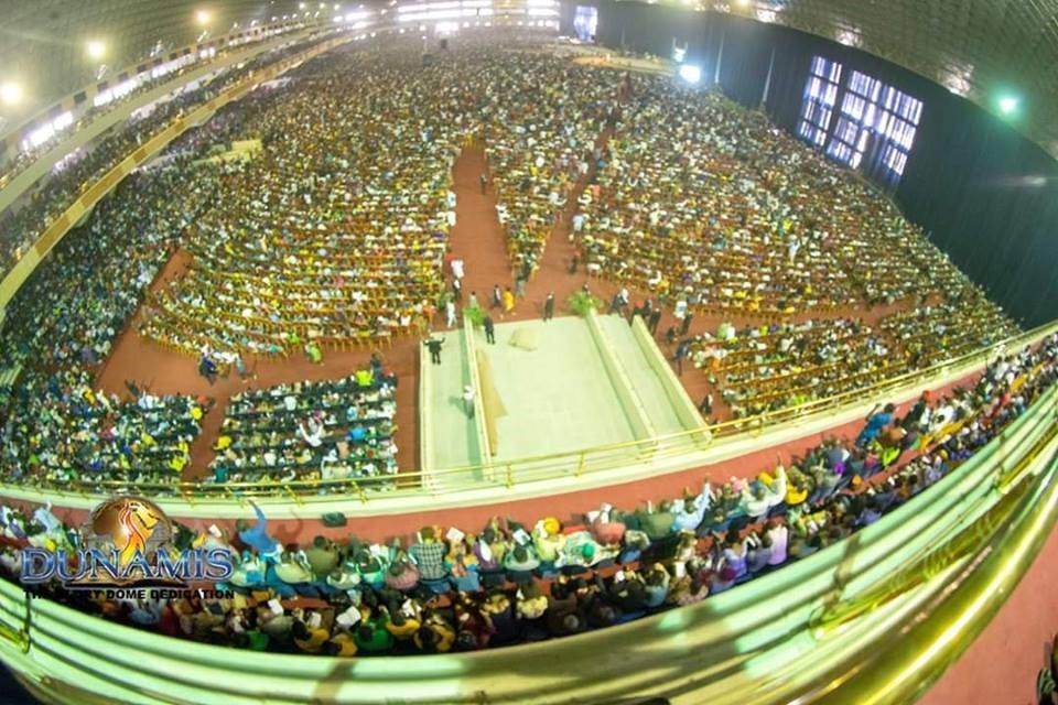 The Glory Dome Specification - Dunamis 100,000 capacity auditorium
