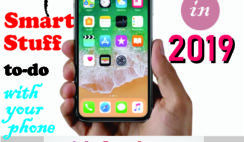 things to do with your phone in 2019