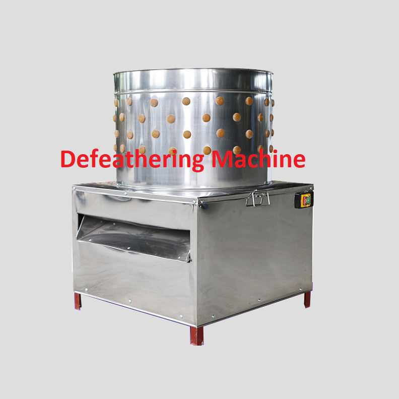 feather plucking machine